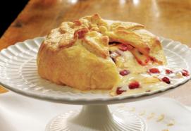 Puff Pastry Brie en Croute