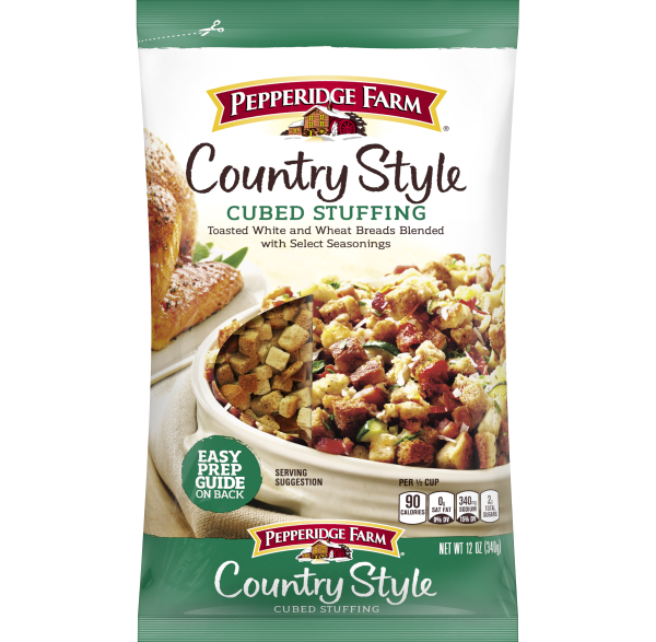 Country Style Cubed Stuffing