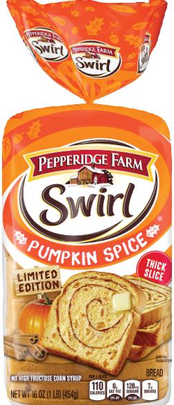Pumpkin Spice Swirl Bread