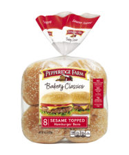 Pepperidge Farm® Sesame Topped Hamburger Buns